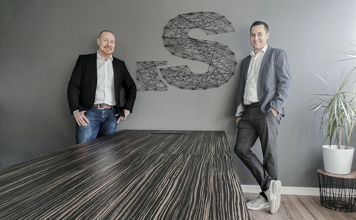 Simon Brewig und Simon Rocholl